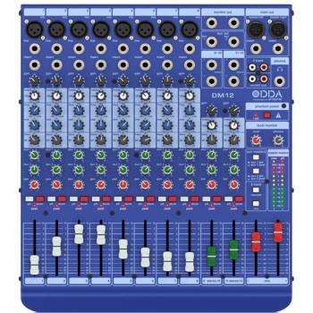 12路模拟调音台|环球音响网