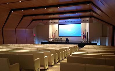 仁怀市委多功能厅选用英国乐富豪专业音响系统
